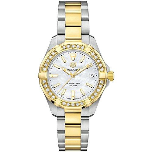 Tag Heuer Aquaracer Reloj de pulsera con diamantes para mujer WBD1321.BB0320