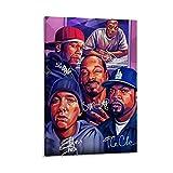 50 Cent und Eminem Leinwand-Kunst-Poster und