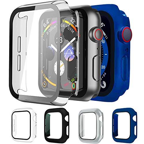 Mocodi 4 Pack Apple Watch Funda 44mm Series 6/5/4/SE con