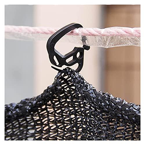 20 unids invernadero sombrilla de huelle clips agricultura al aire libre sombreado red red fijo gancho de trabajo pesado percha de patio aves de corral de aves de aves de aves de valla de cerca para s