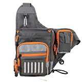 Maxcatch V-Cross Shoulder Bag Multifunction Fishing Sling Pack