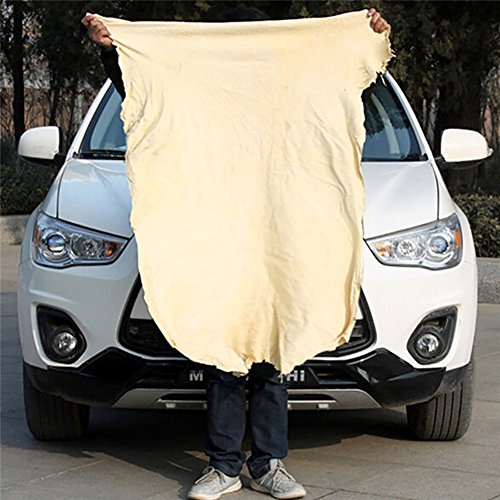 MeterMall nieuw voor natuurlijke Chamois lederen auto reinigingsdoek wassen Suede Absorbens Quick Dry handdoek