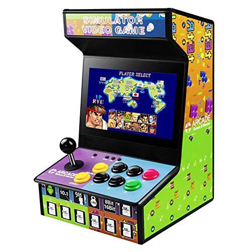 DOYO Consola Arcade Retro y Recargable, Incorporados 88 Juegos, Pantalla LCD a Color de 10.1 Pulgadas