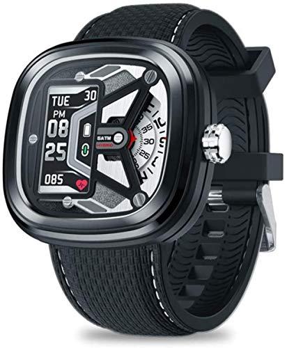 Reloj inteligente híbrido de moda 2 0.96 50 m impermeable con frecuencia cardíaca y control de presión arterial reloj mecánico para hombres ser diferente-A