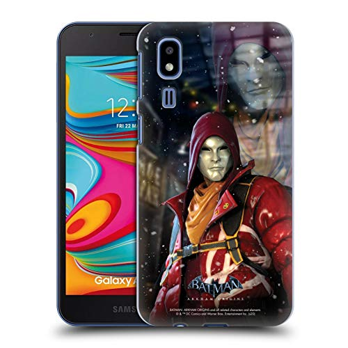 Head Case Designs - Carcasa rígida para Samsung Phone 1, diseño de Batman, compatible con Compatibilité: Samsung Galaxy A2 Core (2019)