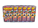 Magic Grow Capsules by JA-RU (6 Packs). Best Growing Animals Dinosaurs Capsules Bath Toys for Kids. 305-6A