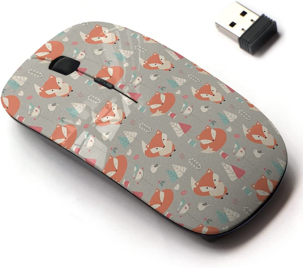 2.4G Cheap sale Wireless Mouse Manufacturer OFFicial shop with Cute Pattern and Laptops Design All for