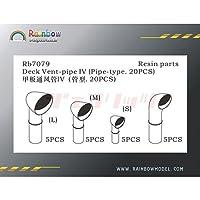 1/700 通風筒 キセル型 4 種 Ventilator Rb7079