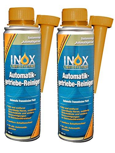 INOX® Automatikgetriebe-Reiniger Additiv, 2 x 250ml - Getriebereiniger Zusatz für Automatikgetriebe Getriebeschutz