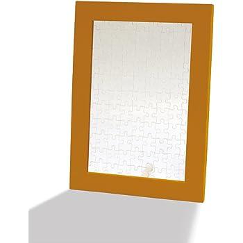 木製パズルフレーム プリズムアートプチ専用 ブラウン (10x14.7cm)