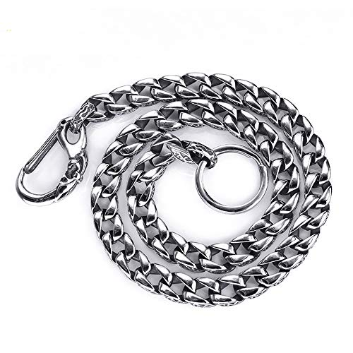 Roestvrij staal Cubaanse Pant Chain, Fashion K-Pop Dance Jeans Chain Hipster Sleutelhangers Lange Kleding Jewelry