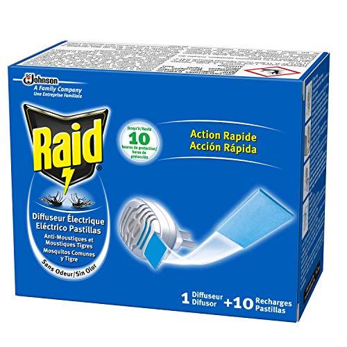 Raid antim. eléc. pastillas aparato