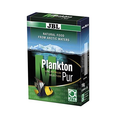 JBL PlanktonPur 30035 Leckerbissen für große Aquarienfische, 8 Sticks, 2 g