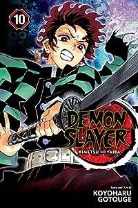 Demon Slayer: Kimetsu no Yaiba 10話 表紙画像
