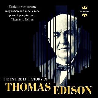 Thomas Edison audiobook cover art