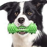 HIZQ Juguete Perro para Mordedura, Material Plástico TPR Duro Y Resistente A Los Mordiscos, Puede Limpiar La Higiene Bucal De Su Perro En Todas Las Direcciones