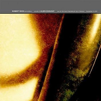 Alien Zoology: Live At Morrison Planetarium, San Francisco, December 9 2001