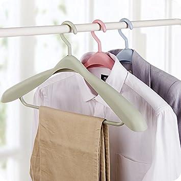 22cm Chytaii Colgador de Ropa Multifuncional Percha Percha Resistentes Antideslizantes para Camisas Chaquetas Pantalones Vestidos Faldas Espesar Traje de Suspensi/ón Giratorio 44.2