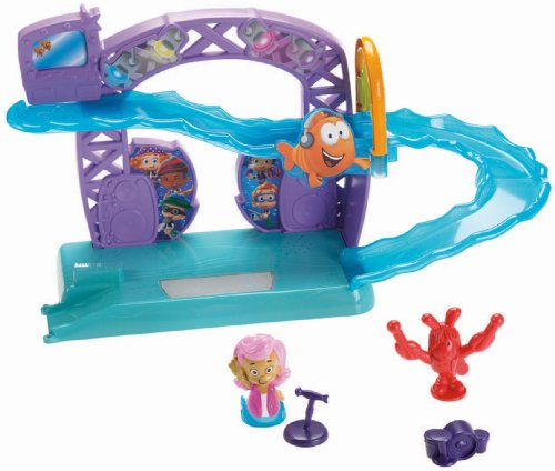 Bubble Guppies Rock N Roll Stage - Juego con Circuito
