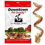 """Downtown Pet Supply 4"""" - 6"""" Curly Spiral Bully Sticks, Bully Springs"""