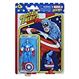 Marvel Hasbro Legends Series 3.75-inch Retro 375 Collection Captain America Action Figure Toy
