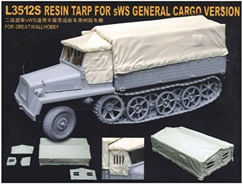 1 35 German Army sWS cargo transport type for carrier hood resin parts (L3512S) (japan import)