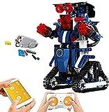 Mold King Juego de robots de bloques de construcción con control remoto Juego de bloques de construcción inteligentes para niños de 6 a 13 años Regalos para niños y niñas (349 piezas)