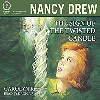 The Sign of The Twisted Candle audiobook cover art