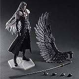 CFTGB Final Fantasy VII Sephiroth Anime Action Figura 28 cm Modelo de colección Carácter Estatua Juguetes