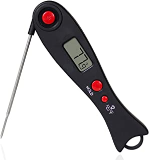 Digital Food Thermometer Backlight Instant Read Meat Thermometer Barbecue BBQ Grill Smoker Thermometer Cooking Baking Oven...