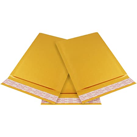 """500 #000 4/"""" x 8/"""" Kraft Bubble Padded Envelopes Mailers Bags"""
