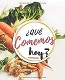Qué Comemos Hoy: Planificador Diario de Comidas Para la Familia | Organice tus Menús Durante 53 Semanas | Notas y Lista de Compras Fácil de Llevar | ... tus Recetas Favoritas | Portada Vegetales