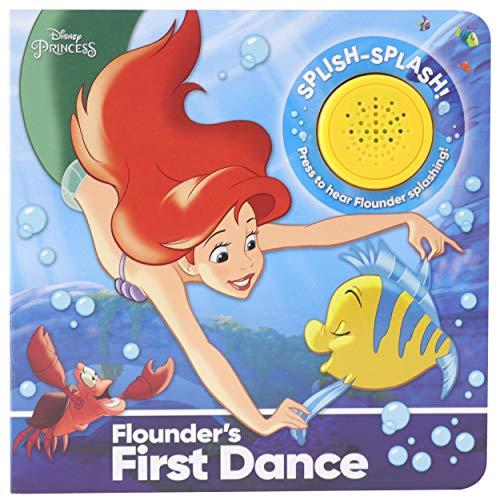 Disney Princess Little Mermaid Ariel - Flounder's First Dance! Sound Book - PI Kids (Play-A-Sound)