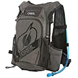 ONEAL - Mochila de hidratación para bicicleta de montaña (12 L, sistema de hidratación integrado), color negro