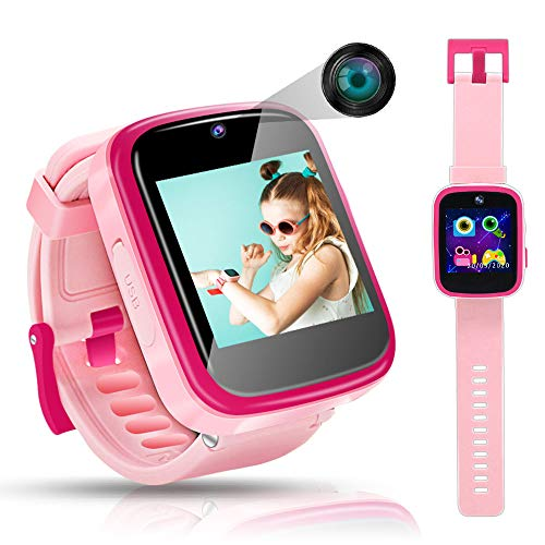 Biliqueen Kids Smart Watch for 4-12 Year Old Girls Toddler HD Dual...