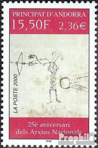 Prophila Collection Andorra - francés Correos 560 (Completa.edición.) 2000 Archivos Nacionales (Sellos para los...