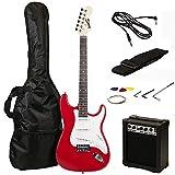 RockJam RJEG02-SK-RD - Kit de guitarra eléctrica