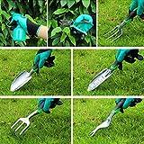 Immagine 1 lanlelin attrezzi giardinaggio 50 pezzi