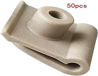 BOOMBOOST 50PCS Auto en Plastique Fixation Couvercle De Moteur De Voiture Insonoris/é Coton Clips pour P//eugeot 307 308 408 206 C//itroen C4