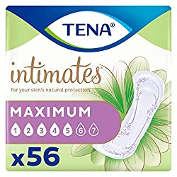 Image: TENA Serenity Pads for Women | 3D Technology draws moisture away from the skin | New ProSkin Technology promotes freshness and skin health | Super absorbent technology protects against surge incontinence and heavy bladder leaks | Enjoy triple protection against leaks, odor, and wetness