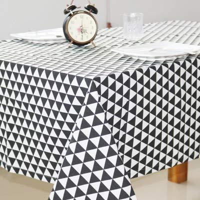 XXDD Mantel de Lino de algodón nórdico Cuadrado rectángulo Cubierta de Mesa de café Mantel hogar Mantel A1 135x200cm