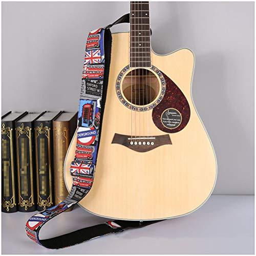 GAOJIAN Correa Universal de Guitarra Ampliar y Espesar Correa de Guitarra Baja...