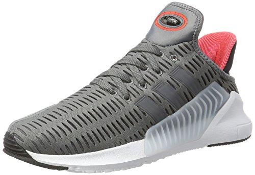 adidas Climacool 02/17, Scarpe da Ginnastica Uomo, Grigio (Grey Four F17/Grey Five F17/Ftwr White), 40 EU