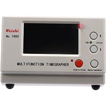 MTG-1000 S SMAUTOP Timegrapher NO.1000 MTG-1900 Mechanisches Messger/ät Kommunikationserkennungsuhr Werkzeugpr/üfger/ät