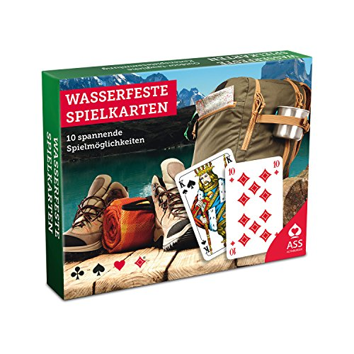 ASS Altenburger 22597290 - Wasserfeste Spielkarten