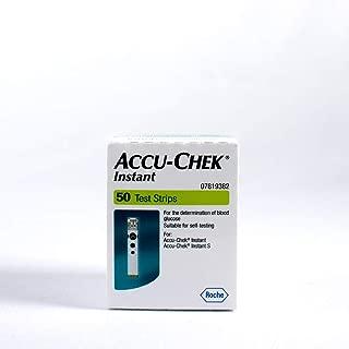 Accu Chek Pro - Accu-Chek Instant Test Strips, 50 Count - (Multicolor)
