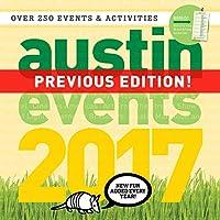 オースティン・テキサス・イベント壁掛けカレンダー 2017-250以上のオースティンイベント日付とアクティビティがカレンダーに付いています。