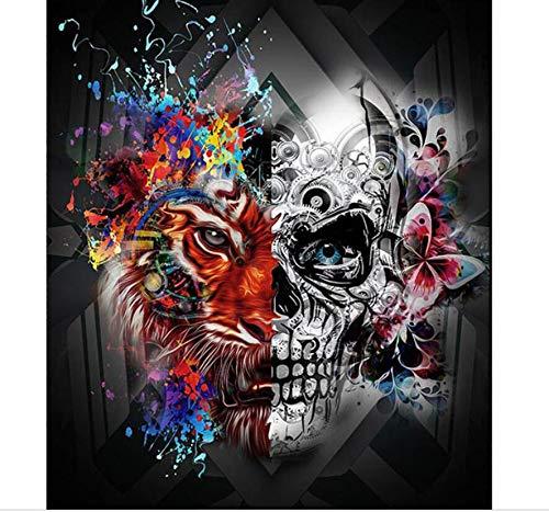qiyan 5D DIY Diamant Malerei Armbrust Skelett Voller Stickerei Platz/Runde DIY Diamant Mosaik Kunst Rahmenlose 16X20 Zoll