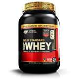 Optimum Nutrition Gold Standard Whey Protein Powder Muscle Building Supplements with Glutamine and Amino Acids, Extreme Milk Chocolate, 28 Servings, 900 g, Packaging May Vary