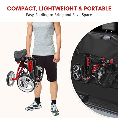 Health Line Massage Products Compact & Portable Knee Scooter